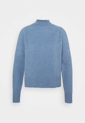 FUNNEL NECK - Strikkegenser - pale blue