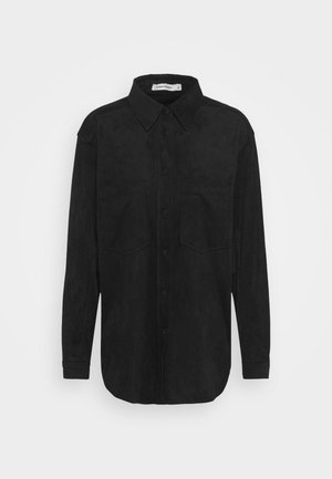 ANDY - Button-down blouse - black