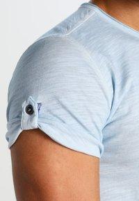 Key Largo - ARENA - T-shirt z nadrukiem - skyblue - 4