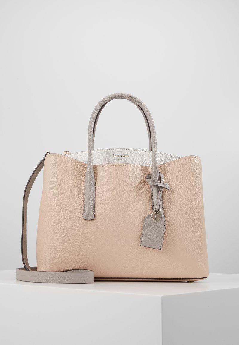 kate spade new york - MARGAUX LARGE SATCHEL - Taška s příčným popruhem - blush/multi