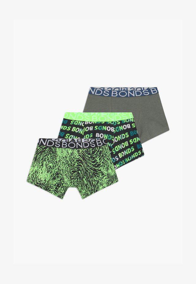 TRUNK 3 PACK - Onderbroeken - green
