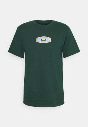 WORKMANS TEE - Camiseta estampada - dark green