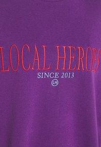 Local Heroes - GRAPE - Sweater - purple - 2