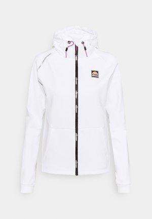 MANEA HOODY - Mikina na zip - white