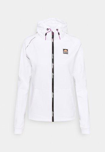 MANEA HOODY - Zip-up sweatshirt - white
