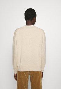 Polo Ralph Lauren - LONG SLEEVE CARDIGAN - Kardigan - tallow cream heather - 2