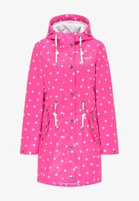 Schmuddelwedda - Waterproof jacket - pink aop - 4