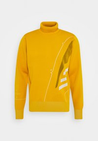 adidas Performance - ATHLETICS TECH SPORTS - Sweter - legacy gold - 4