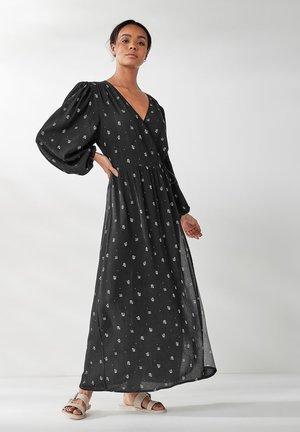 LONG SLEEVE - Maxi dress - black