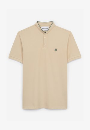 Basic T-shirt - mastic ylw / bottle grn