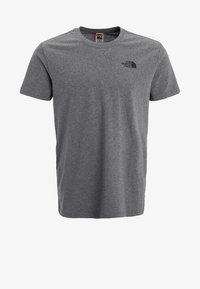 The North Face - REDBOX TEE   - Print T-shirt - mottled grey