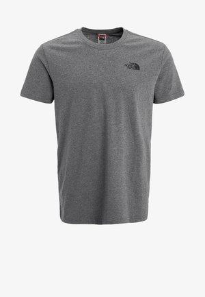 REDBOX TEE   - Print T-shirt - mottled grey