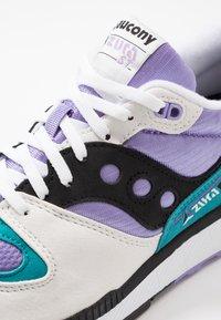 Saucony - AZURA - Sneakers laag - white/voilet/capri - 5