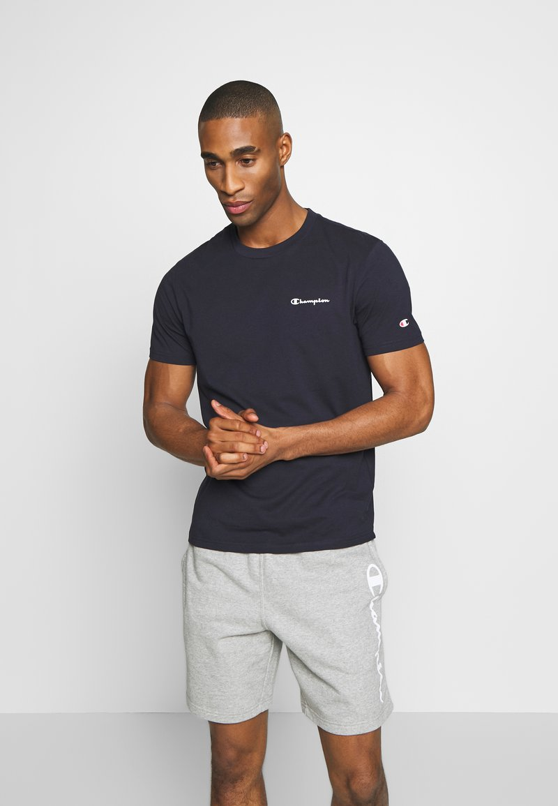 Champion - CREWNECK  - Camiseta básica - dark blue