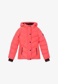 Cars Jeans - LURDES - Winter jacket - fluor coral - 4