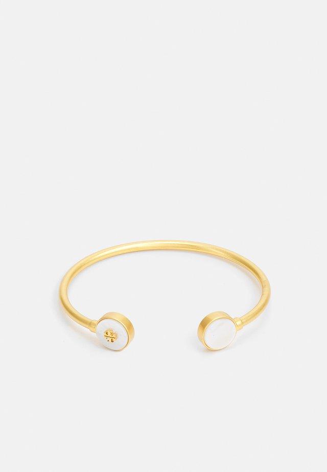 KIRA SEMI PRECIOUS OPEN CUFF - Bracelet - gold-coloured