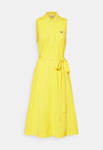 Shirt dress - pineapple