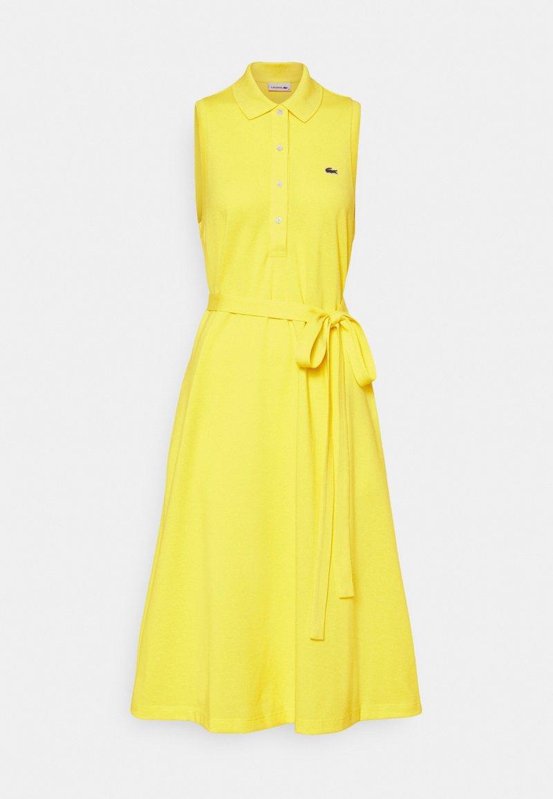 Lacoste - Shirt dress - pineapple
