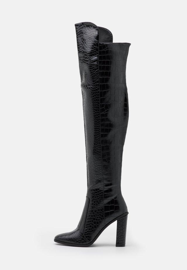 CYNTHIA - High heeled boots - black