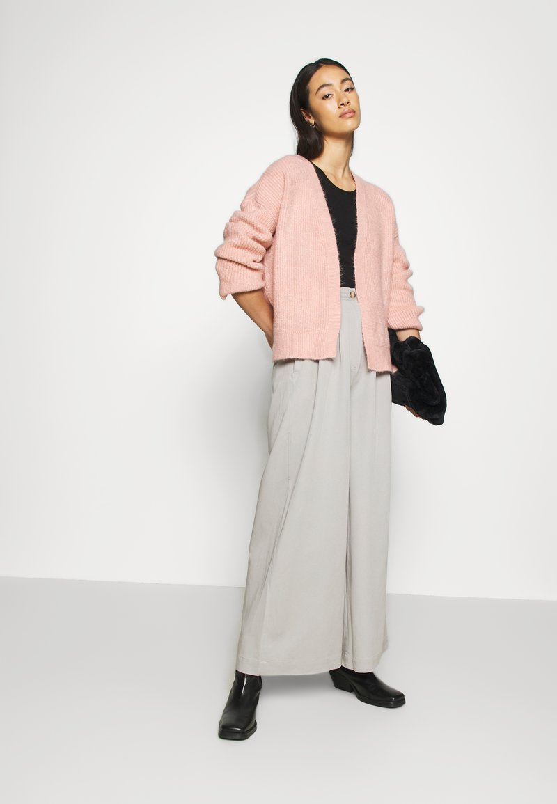 ONLY - ONLPIMMIE OPEN CARDIGAN - Cardigan - misty rose