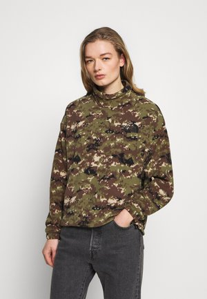POLAR - Fleece jumper - burnt olive green