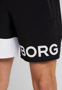 Björn Borg - ARCHER SHORTS - Träningsshorts - black beauty - 3
