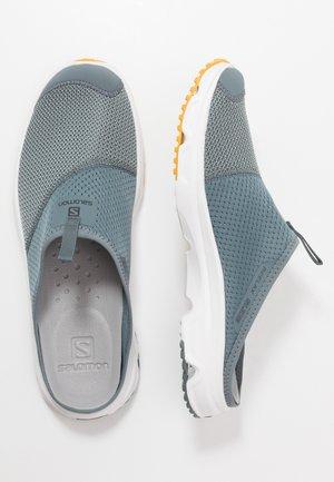 RX SLIDE 4.0 - Walking sandals - stormy weather/white/arrowwood