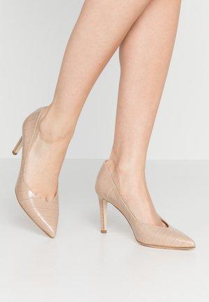 High heels - taupe
