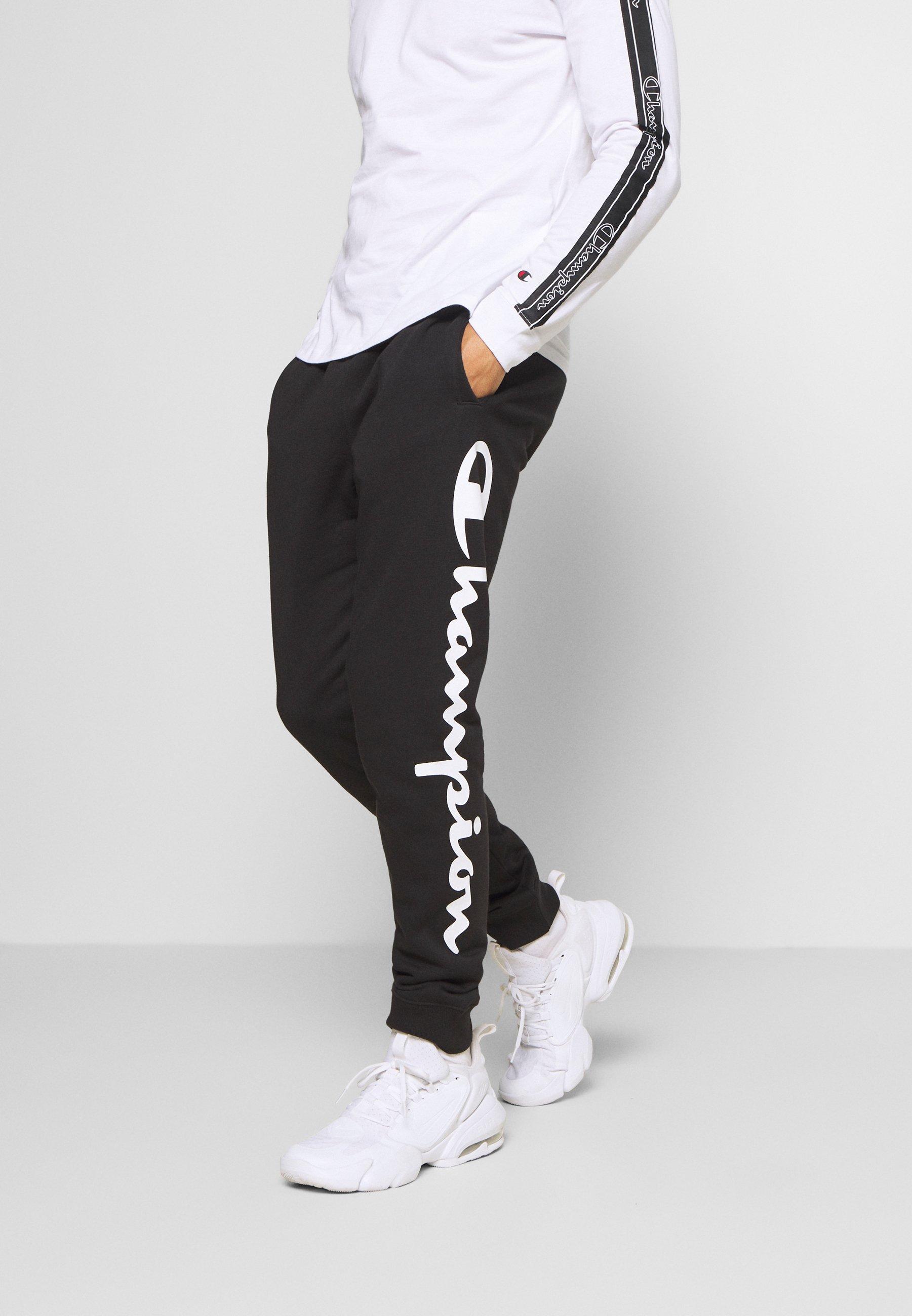 Best Place Largest Supplier Men's Clothing Champion LEGACY CUFF PANTS Tracksuit bottoms black/grey 9M4T9xHNn JdufskWcM
