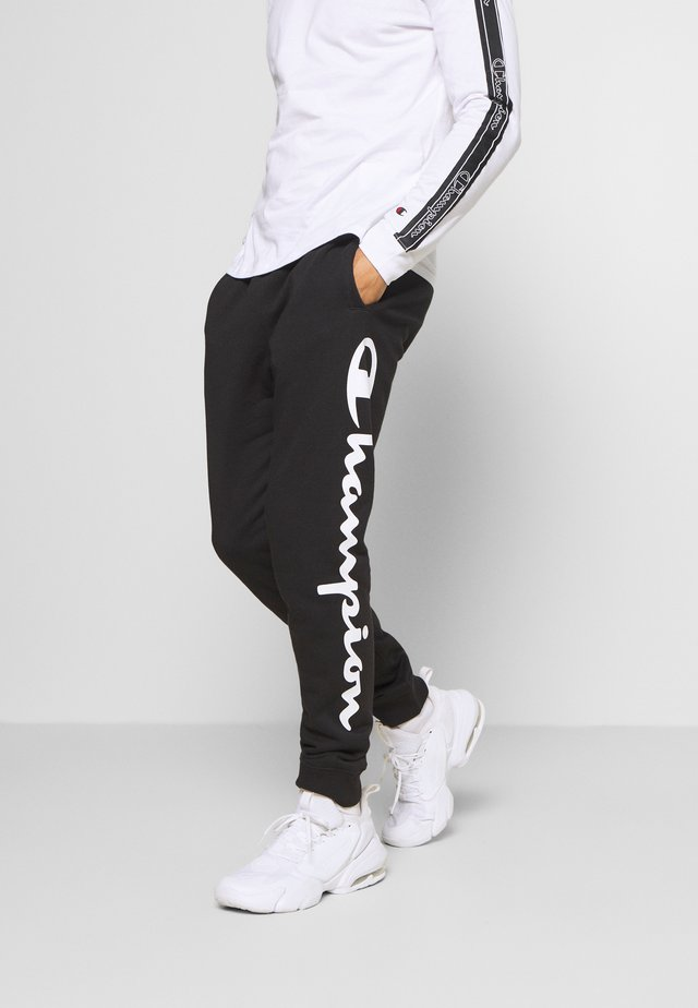 LEGACY CUFF PANTS - Trainingsbroek - black/grey