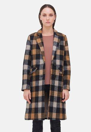 Classic coat - marrone