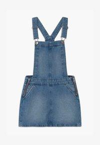 Benetton - EUROPE GIRL - Denimové šaty - blue denim - 0