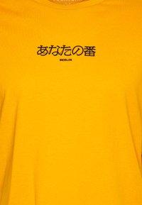 YOURTURN - T-shirt med print - yellow - 2