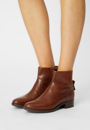 FELICITY - Classic ankle boots - brown