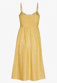 ONLY Petite - ONLVIVIAN CANYON LONG LIFE DRESS - Kjole - golden spice - 1