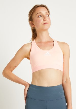 ASK BRA - Sport-bh met medium support - light flash orange