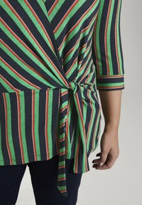 MY TRUE ME TOM TAILOR - MIT KNOTEN-DETAIL - Long sleeved top - multi-coloured - 4