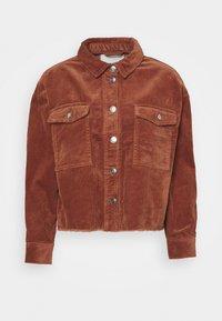 ONLY - ONLMARINA BITTEN LIFE - Summer jacket - rustic brown - 5