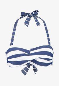 Esprit - NORTH BEACH PADDED BANDEAU - Bikini top - dark blue - 3