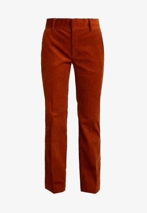 JAZLYN BOOTCUT PANT - Kalhoty - rust