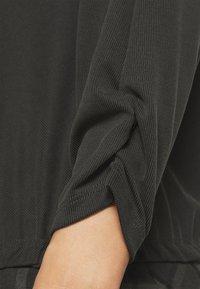 Opus - SEBOTA - Topper langermet - slate grey melange - 4