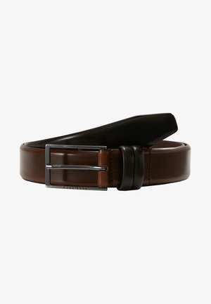 CARMELLO - Belt business - dark brown