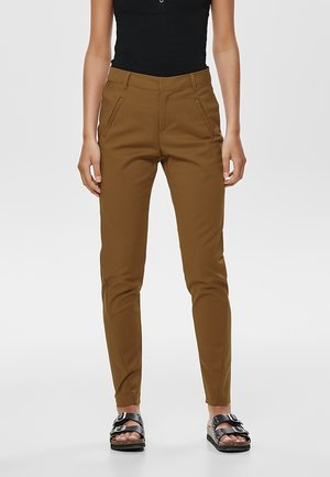 ONLSTRIKE  - Trousers - tobacco brown
