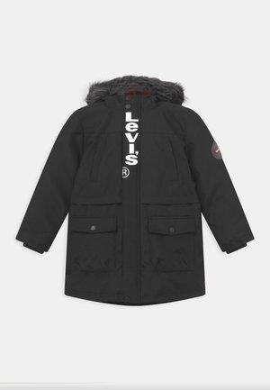 LONG - Cappotto invernale - black