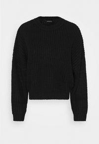 OVERSIZED JUMPER - Pullover - black