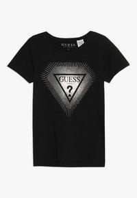 Guess - JUNIOR - Camiseta estampada - jet black - 0