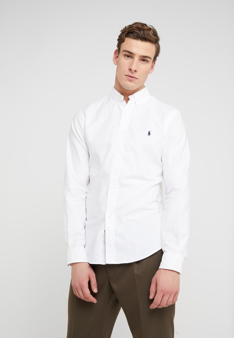 Polo Ralph Lauren - OXFORD  - Koszula - white