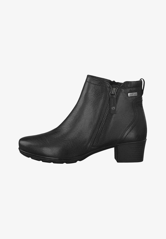 STIEFELETTE - Korte laarzen - black