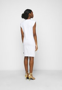 Versace Jeans Couture - ACTIVE DRESS - Jersey dress - optical white - 2