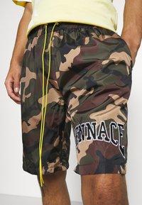 Mennace - CAMO PULL ON - Shorts - khaki - 3
